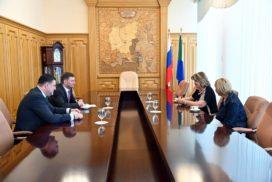 С рабочим визитом г. Хабаровск посетила главный инфекционист Министерства здравоохранения РФ Елена Малинникова